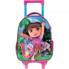 Imagem - Mochilete com rodinhas Escolar Infantil G 3D Dora Lets Go - Dora A Aventureira