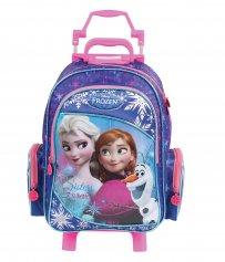 Imagem - Mochilete com rodinhas Escolar Infantil G Disney Frozen com Brinde Trança - Frozen