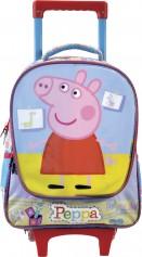 Imagem - Mochilete com Rodinhas Escolar Infantil G Peppa Hora da Brincadeira - Peppa Pig