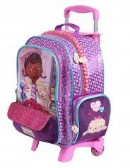 Imagem - Mochilete com rodinhas Escolar Infantil M Disney - Doutora Brinquedos