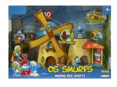 Imagem - Moinho dos Smurfs, inclui 2 bonecos e 10 atividades divertidas - Os Smurfs