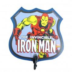 Imagem - Pendurador de 1 gancho 12x12x1cm -  Homem de Ferro