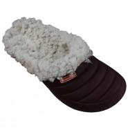 Babucha C/Pelo Boaonda Snow
