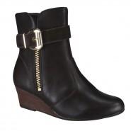 Bota Comfortflex Ankle Boot Anabela