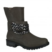 Bota Via Marte Biker Ankle Boot