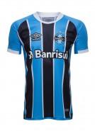 Camisa Umbro Masculina Grêmio Oficial 1 2017 (Game)