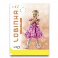 Meia Calça Infantil Lupo Fio 20 (0 a 4 mêses)
