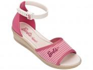 Sandália Infantil Grendene Barbie Trend Anabela
