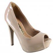 Sapato Peep Toe Via Marte Feminino