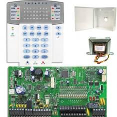 Kit Alarme Residencial Monitorado SP7000 com Teclado K32 + Caixa e Trafo - Paradox