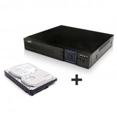 Kit Cftv Dvr Stand Alone PPA 4 Canais + HD 500GB