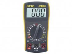 Mult�metro Digital Hikari HM-1100 Visor Para Medi��es de Tens�o