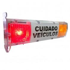 Sinalizador Transparente de Entrada e Saída de Veículos para Garagem Giltar