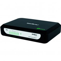Switch 16 portas - Distribuidor de cabo de rede QoS Intelbras SF 1600 D