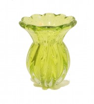 Vaso Murano Verde 30x20 cm