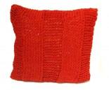 Almofada Trico Vermelha 45x45cm