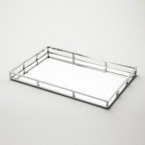 Bandeja Espelho Inox 53X36 cm