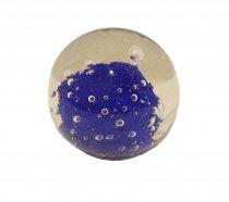 Bola Bolha Azul Royal 9cm