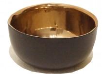 Bowl Preto e Cobre 16 cm