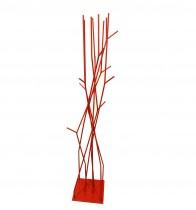 Cabideiro Vermelho Milão 160x35 cm