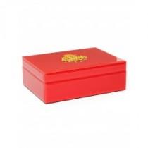 Caixa Decorativa Vermelha 18x25cm