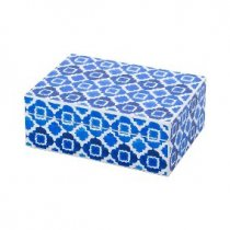 Caixa Madeira Blue 20x15cm