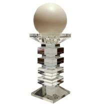 Castiçal em Cristal 23 cm