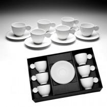 Cj Xícara Cafezinho Porcelana 6un