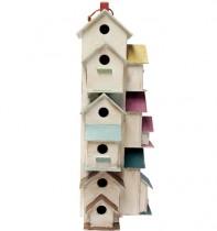 Condomínio de Pássaros Madeira 70cm