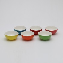 Conj. 6pçs Bowl Color 13cm