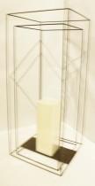 Lanterna 50 cm Ferro Duplo