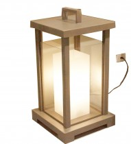 Lanterna Eletrica 50x50x85 cm