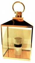 Lanterna M Cobre 34x23x63 cm