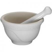 Pilão Cerâmica Branco Le Creuset G