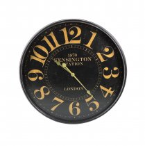 Relógio Kensington Preto 68cm