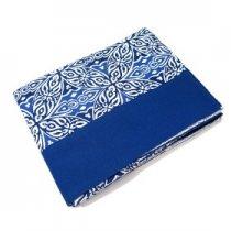 Toalha de Mesa 180x260 Estampa Azul