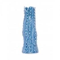Vaso Cerâmica Azul 20cm
