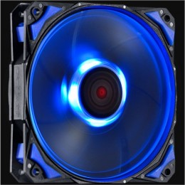 Imagem - Cooler FAN Pcyes Fury F4 120mm LED Azul F4120LDAZ - Pcyes