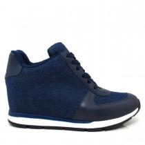 T�nis Sneaker Feminino Vizzano 1226102 Jeans