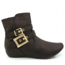 Imagem - Bota Ankle Boot Comfortflex salto embutido - 002419