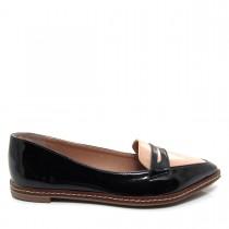 Imagem - Sapato feminino Mocassim Bico Fino Mariotta 16190-71 - 003250