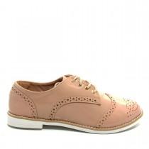 Sapato Feminino Oxford Casual Mariotta 17170-44 Verniz