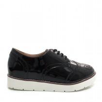 Sapato Feminino Oxford Casual Mariotta 17320-176 FlatForm