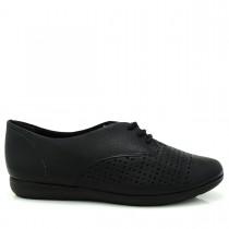 Imagem - Sapato Feminino Oxford ComfortFlex 1554302 Couro - 002436