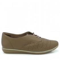 Imagem - Sapato Feminino Oxford ComfortFlex 1554302 Couro - 002435