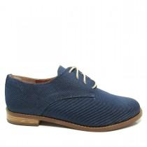 Sapato Feminino Oxford Santa Flor 804002 Jeans