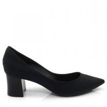 Sapato Feminino Scarpin Cecconello 955001 Salto Bloco