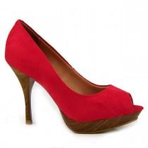 Imagem - Sapato Feminino Peep Toe Vizzano 1778.400 - 001400