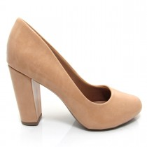 Sapato Scarpin Feminino Mariotta Bico Redondo