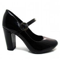 Sapato Scarpin Feminino Mariotta Bico Redondo 17010-02 - Sapato Boneca